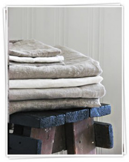 Buy beautiful linen towels online from Ada & Ina Linen Fabric Store
