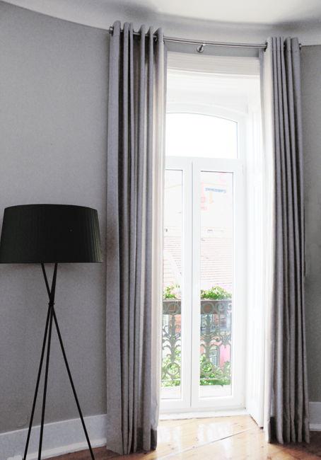 Måttbställda gardiner i linne - Ada & Ina Tyger